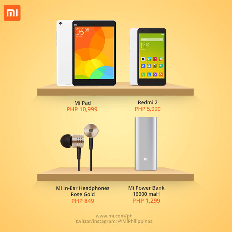 Xiaomi products now available in Cebu stores