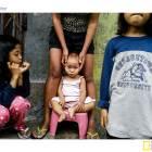 Children in Carbon Market, Cebu City.