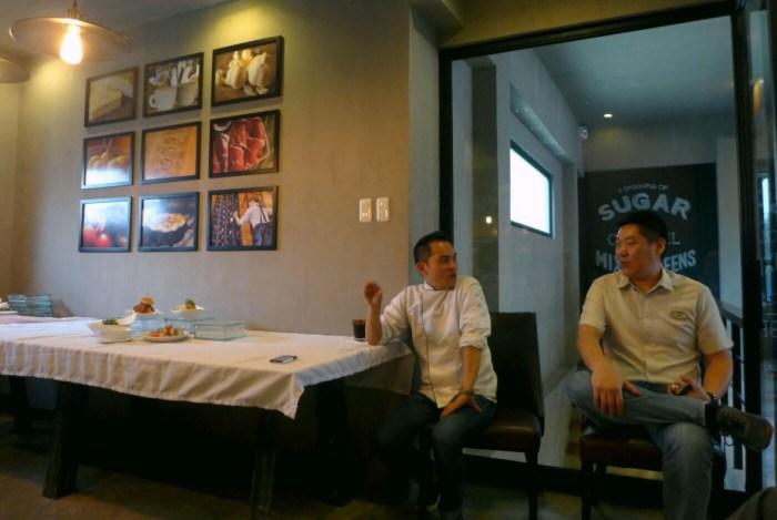 Chef Noel de la Rama and Derek Dytian