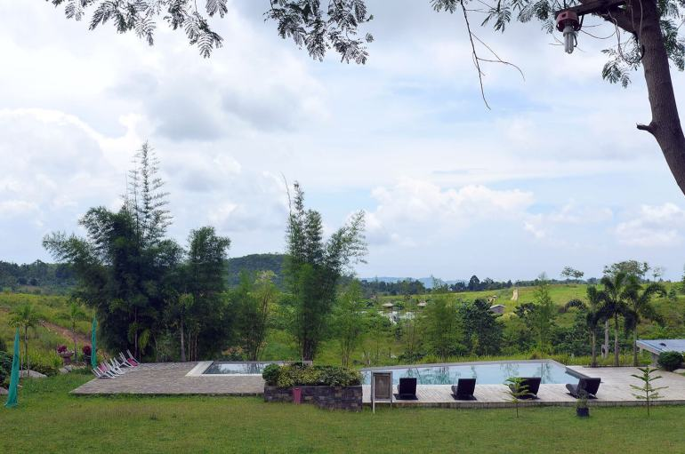 Danasan Eco Adventure Park pool