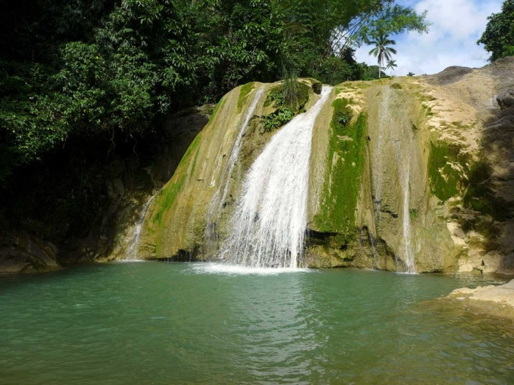 Danasan Eco Adventure Park waterfalls