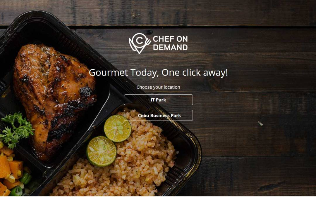Cebu startup cooks up Chef On Demand gourmet food service