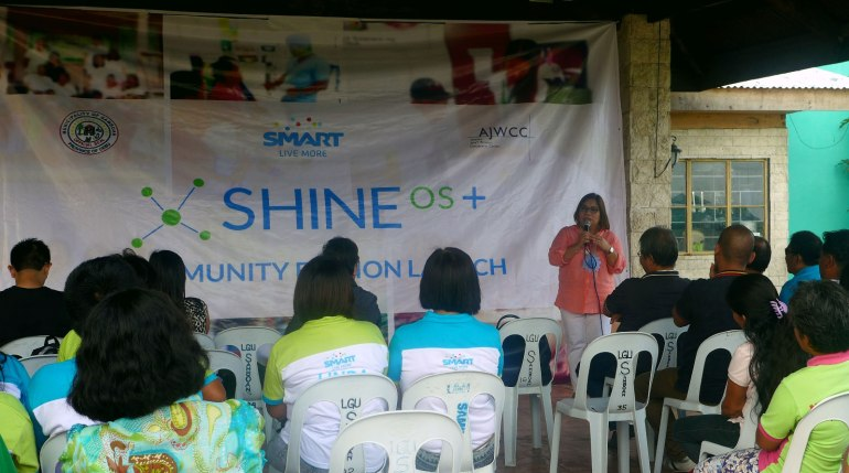 MAKE IT EASIER. Smart public affairs senior manager Maria Jane C. Paredes says that in deploying SHINE OS+, the goal of the partners was to make health services easier.