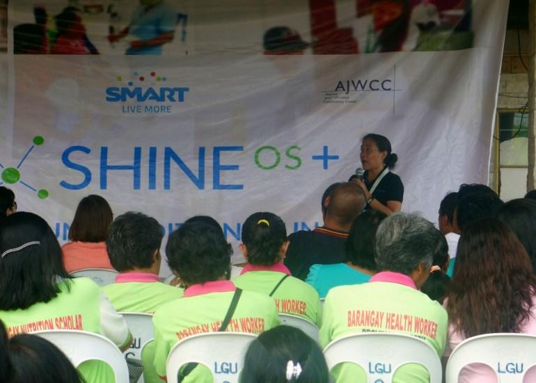 SHINE OS+ Samboan launch