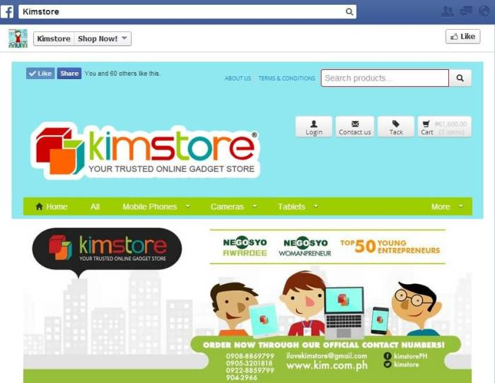 Kimstore FB