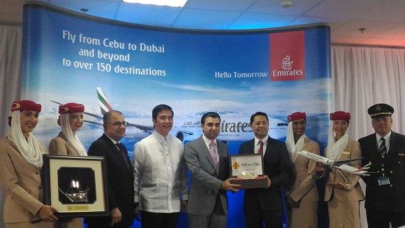 Emirates Cebu ceremony