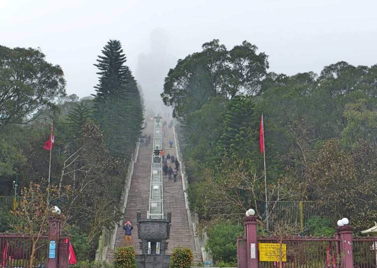 Big Buddha Po Lin Monastery
