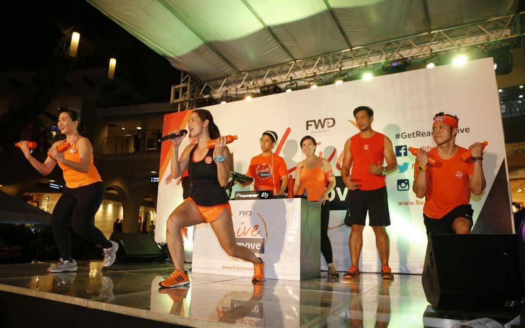 "FWD shakes up Visayas, brings ""Live to Move"" to Cebu"