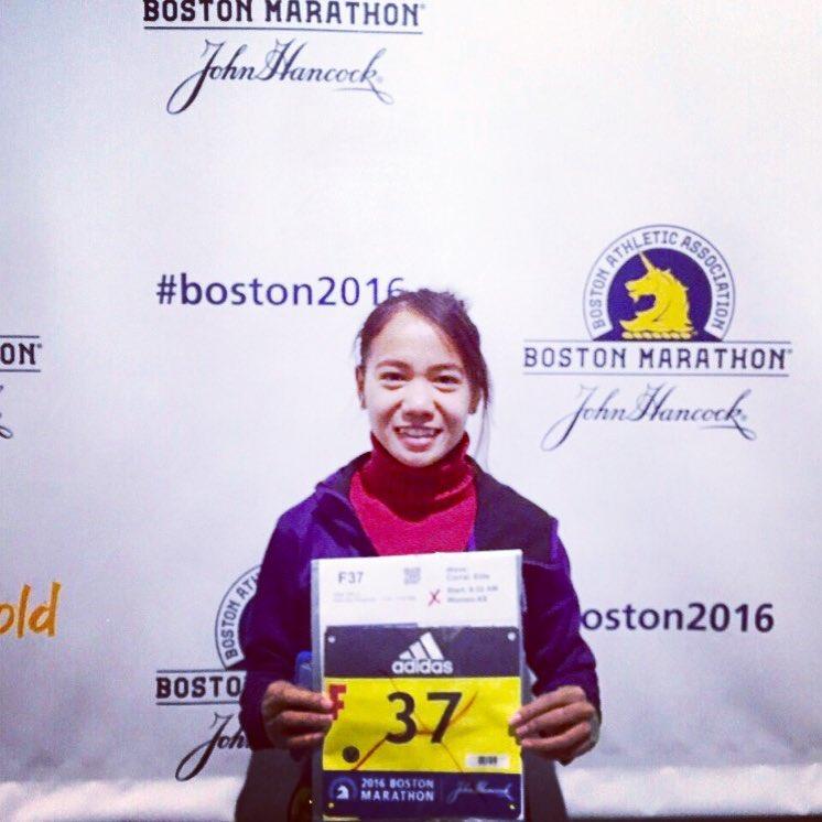 Mary JoyTabal Boston Marathon