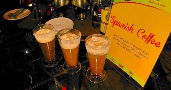 Sabores de Espana Spanish coffee