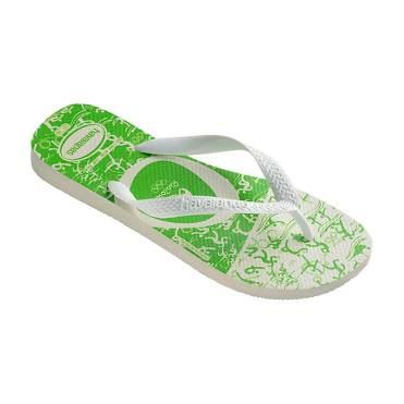 Havaianas Esportes White Green