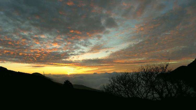 Alishan sunset