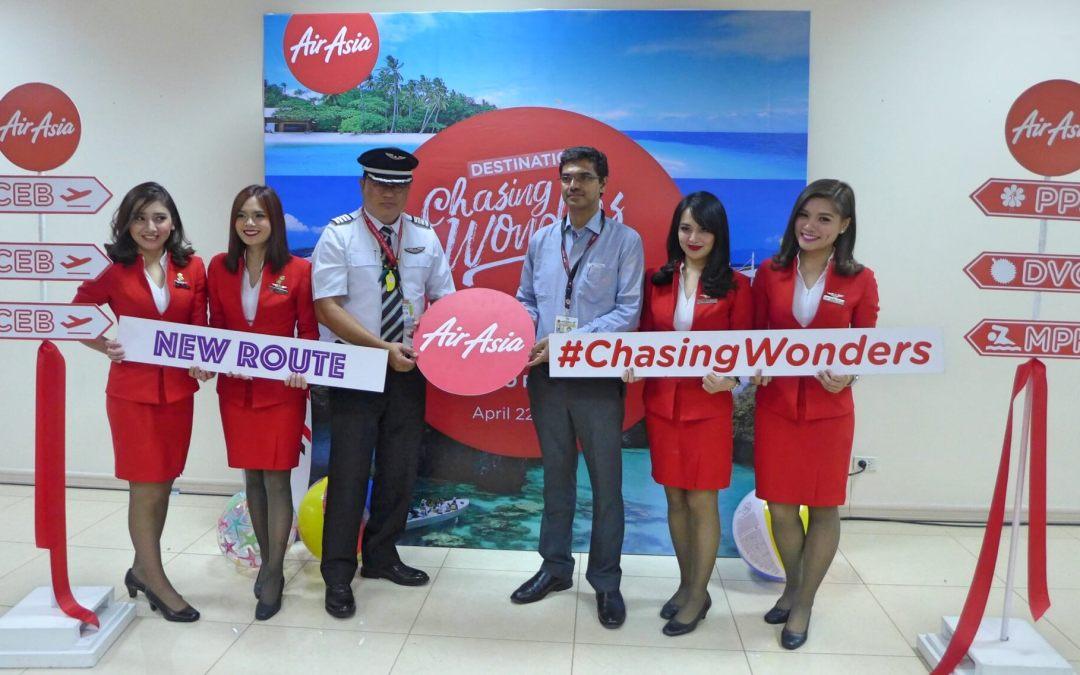 AirAsia starts new flights, connects Cebu, Davao, Palawan, Boracay, Clark