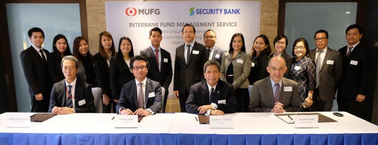 Security Bank Corporation Mitsubishi UFJ Financial Group