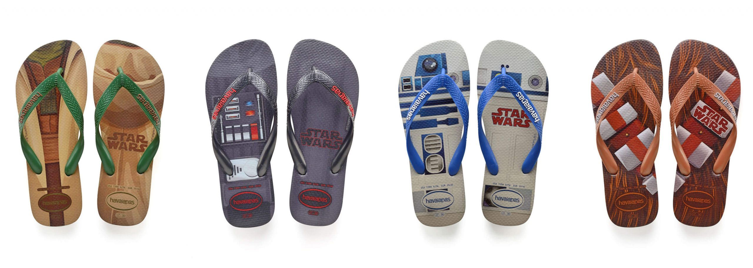 Havaianas Star Wars Collection