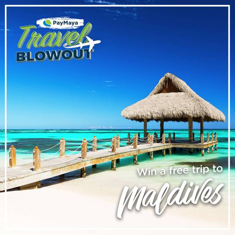 PayMaya Travel Blowout Maldives