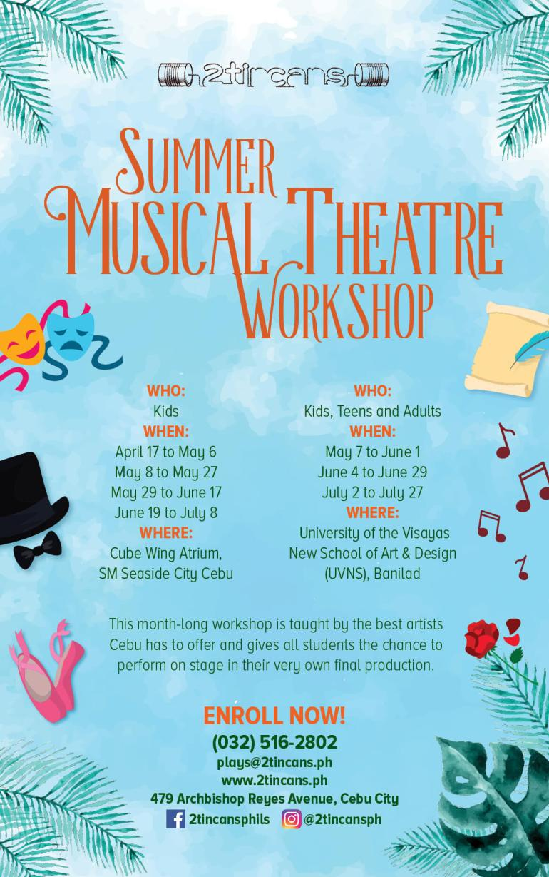 2TinCans Summer Musical Theatre Workshops
