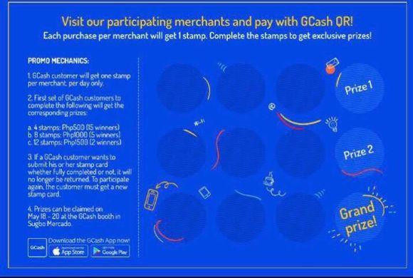 Gcash QR scan to pay Cebu