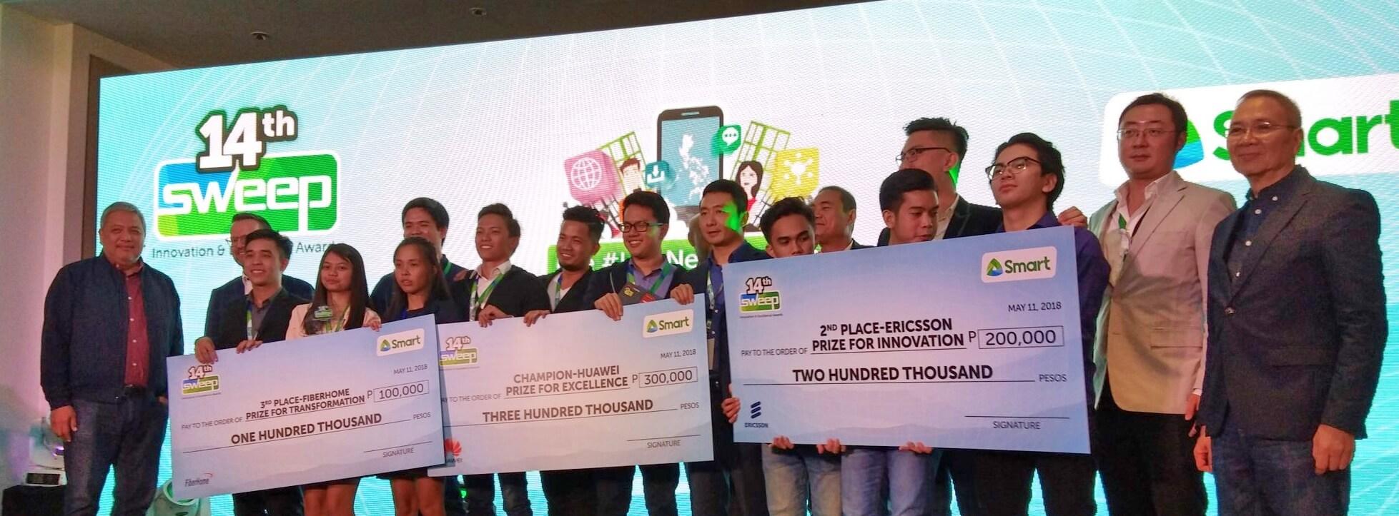 Smart Sweep winners