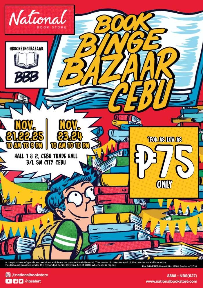 Book Binge Bazaar Cebu