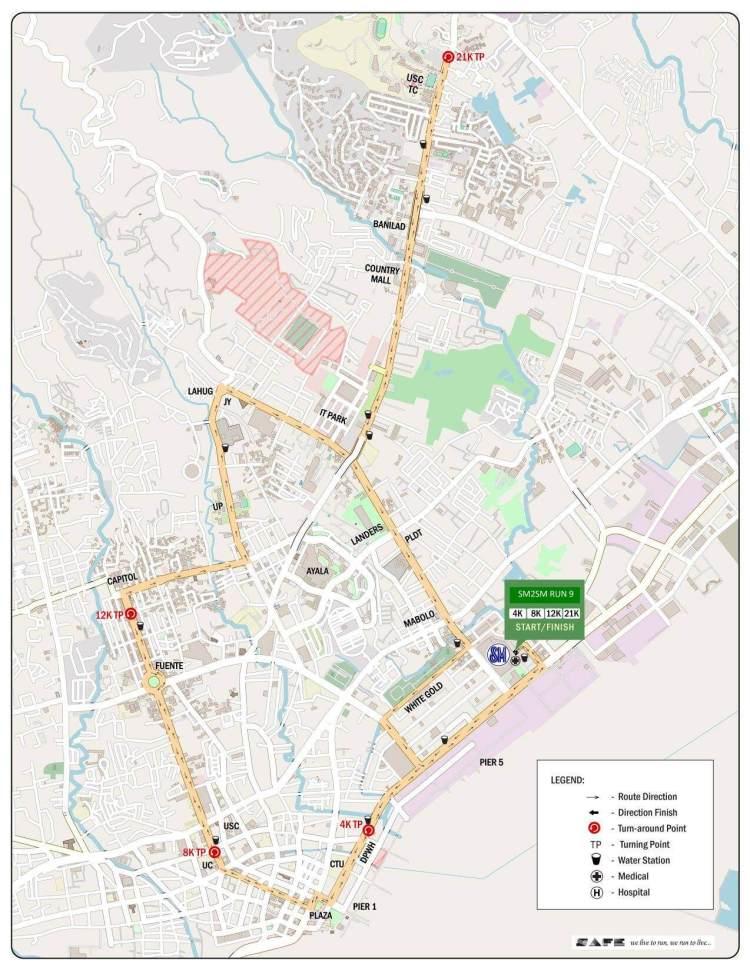 SM2SM Run Route