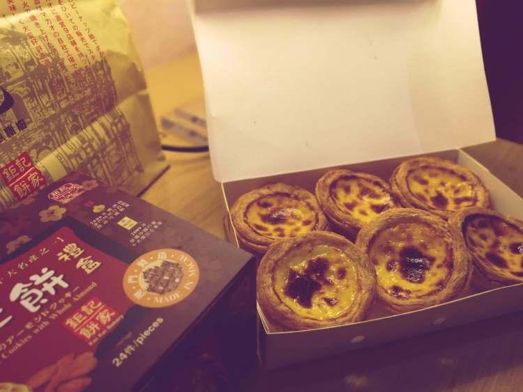Egg tart Macau