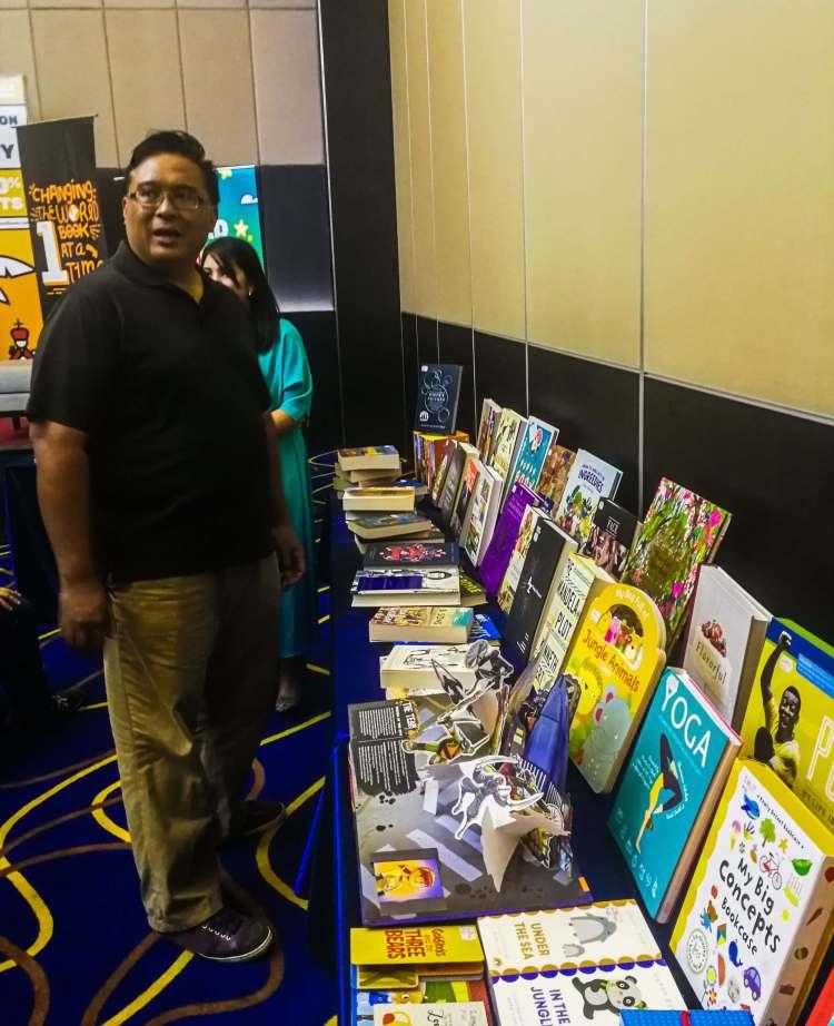 Toby Florendo Gawad Kalinga during Big Bad Wolf 2019 Cebu