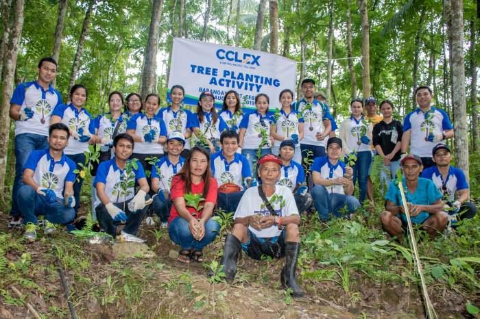 Cebu Cordova Link Expressway Corporation tree planting