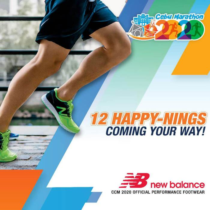 Cebu Marathon 2020 New Balance