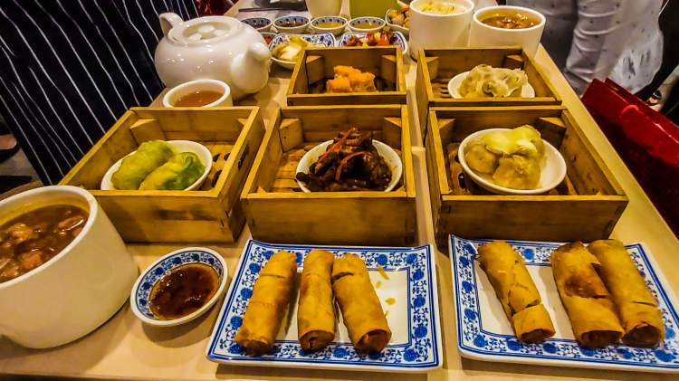"""ICONIC DIMSUM SPREAD. Harbour City Group's restaurant journey started in 1969 with the very first Ding How branch along Colon Street. This was where the Cebu staple """"steamed fried rice"""" was first introduced."""