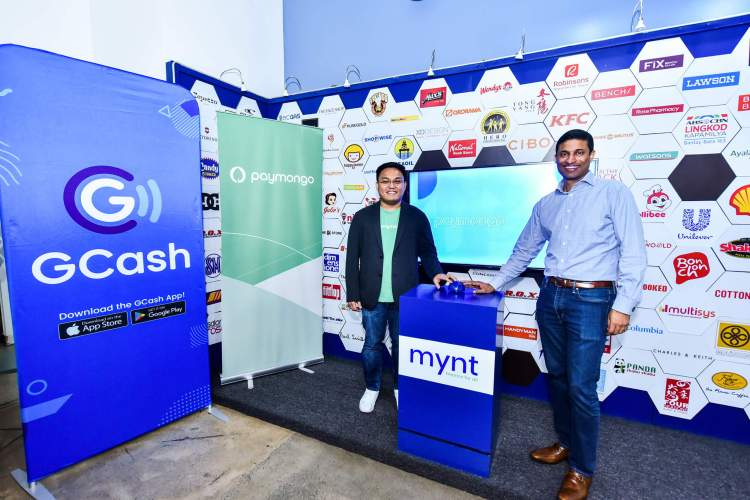 PARTNERSHIP. PayMongo Chief Executive Officer Francis Plaza and GCash President and Chief Executive Officer Anthony Thomas. The two companies have partnered to provide an expanded mobile payments platform for MSMEs in the country.