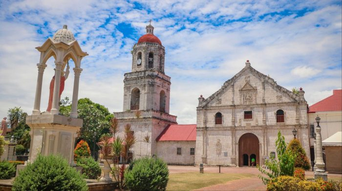 IN ARGAO. The Archdiocesan Shrine of St. Michael in Argao, southern Cebu is among the featured churches of the exhibit.