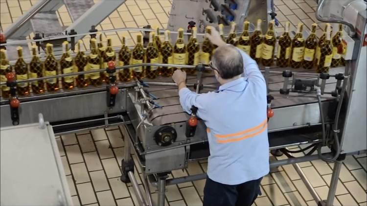 Bodegas Fundador production and bottling plant in Jerez de la Fontera, Spain.