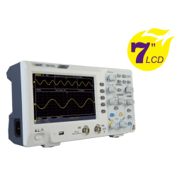 "OWON SDS1000 Series 7"" Display Oscilloscope"