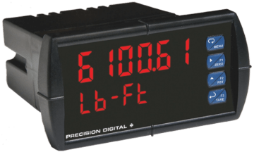 Precision Digital PD6100 ProVu Strain Gauge, Load Cell & mV Digital Panel Meter