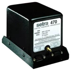 Setra 470 Digital Pressure Transducer