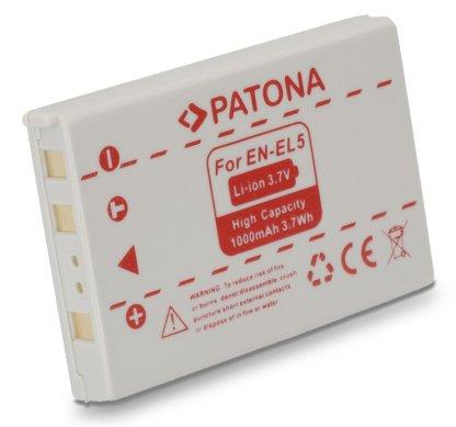 Acumulator tip Nikon EN-EL5 akku Pat EN EL5 1