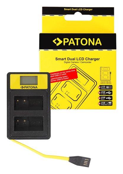 Incarcator Smart Dual USB LCD tip Leica Panasonic DMW-BLC12PP V-Lux 4 Panasonic DMW-BLC12PP 141625 1