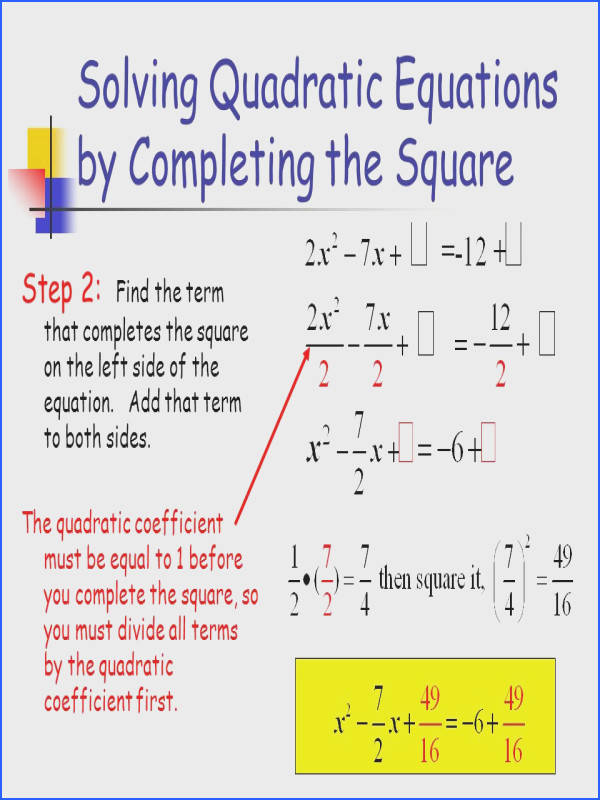Solving Quadratic Equations Graphically Tes Ppt