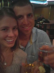 Our 2 yr anniversary, July 2010