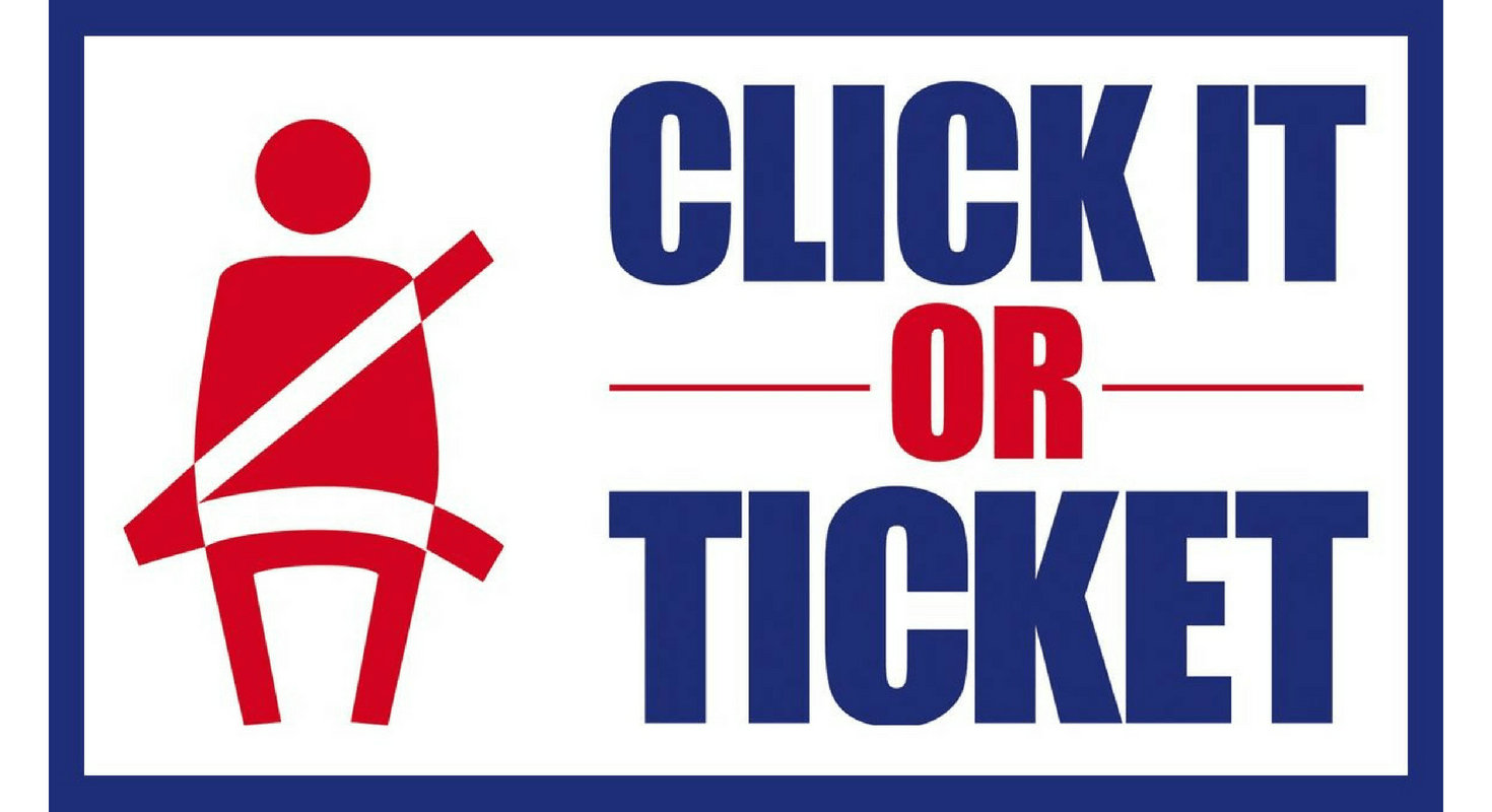 'Click It or Ticket' Seat Belt Enforcement Begins