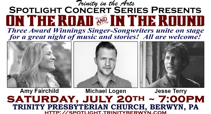 Concert featuring Amy Fairchild, Jesse Terry, and Michael Logen