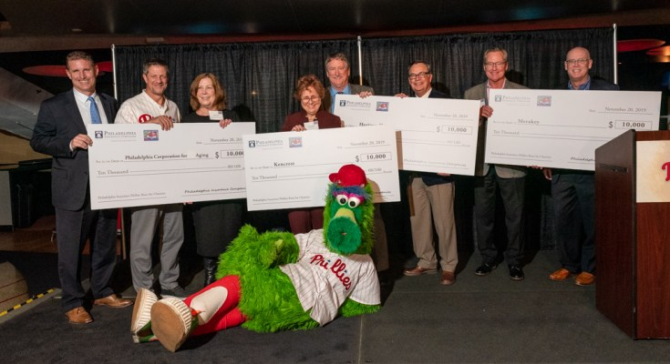 Runs Scored by Phillies Players This Season Leads to $40,000 for Local Charities