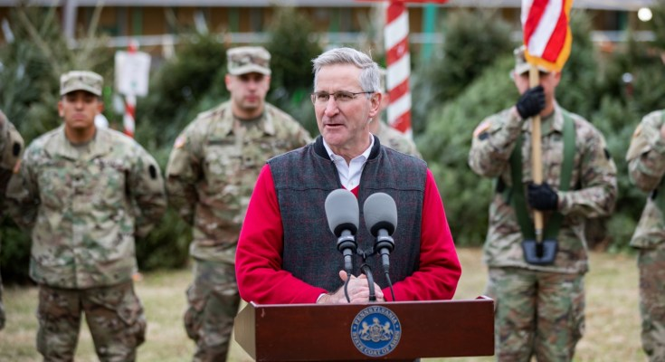 """2019 """"Trees for Troops' Encourages Pennsylvanians to Donate Christmas Trees to Active-duty Military and Their Families"""