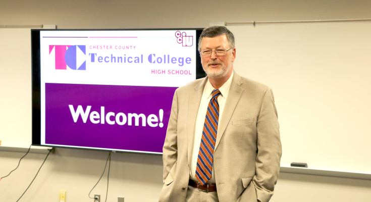 L&I Discusses Importance of STEM Education and Job Training During Tour of Technical College High School in Chester County