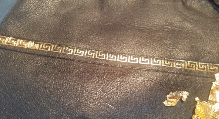 Learn How to Emboss Leather in Historic Sugartown's Gold Tooling Workshop on Saturday, February 15th