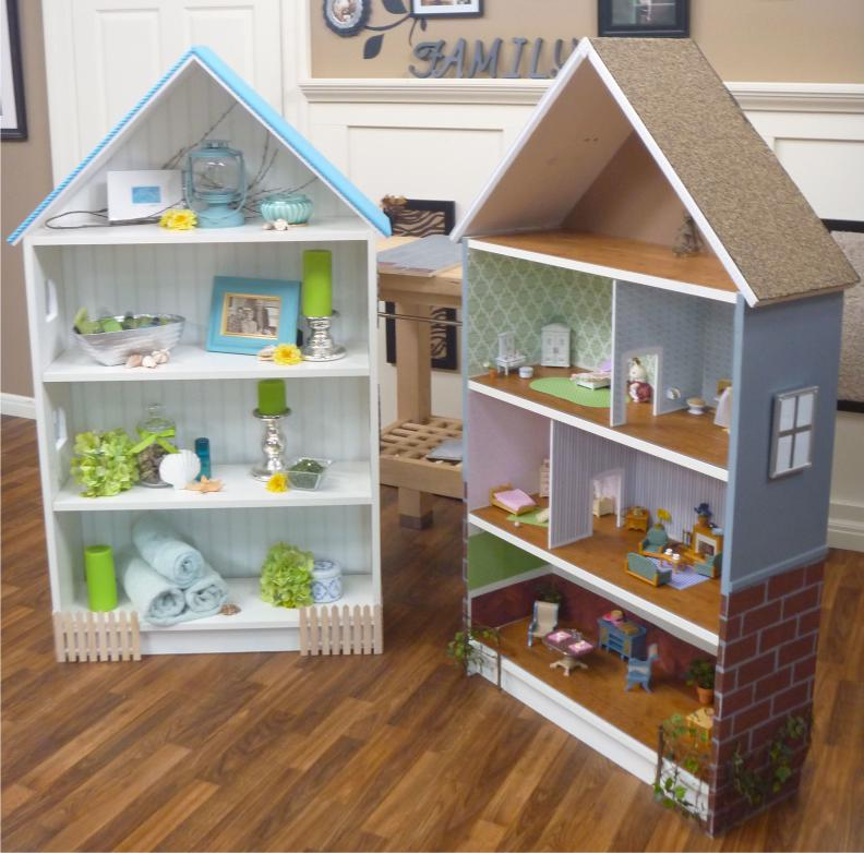 Dollhouse dari Billy Bill Kabinet dari IKEA