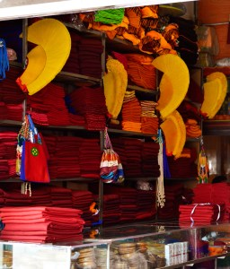 Xiahe shop selling monk clothing