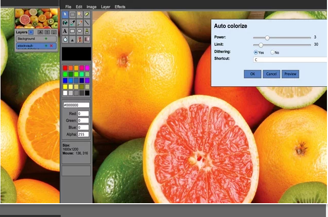 Chrome Web Store Photo Editor