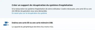 COMMENT CRÉER UNE CLÉ USB «SYSTEM RECOVERY» POUR CHROMEBOOK.
